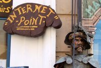 Internet is safe in Cefalu (Sicily, Italy)