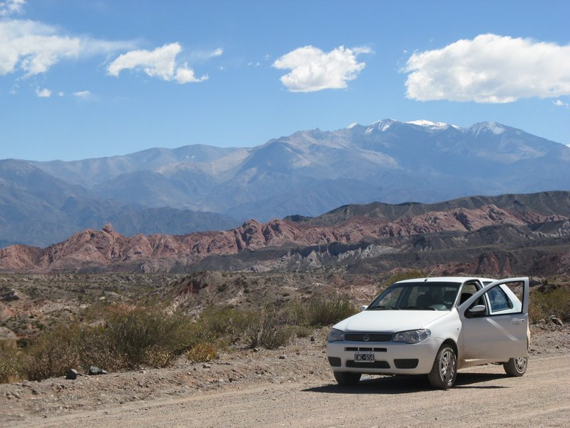 The freedom of a rented car