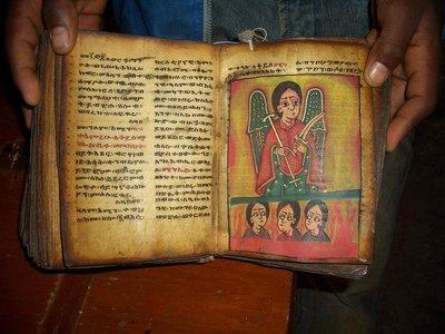 Goat skin bible