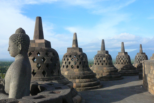 8. Borobudur top level