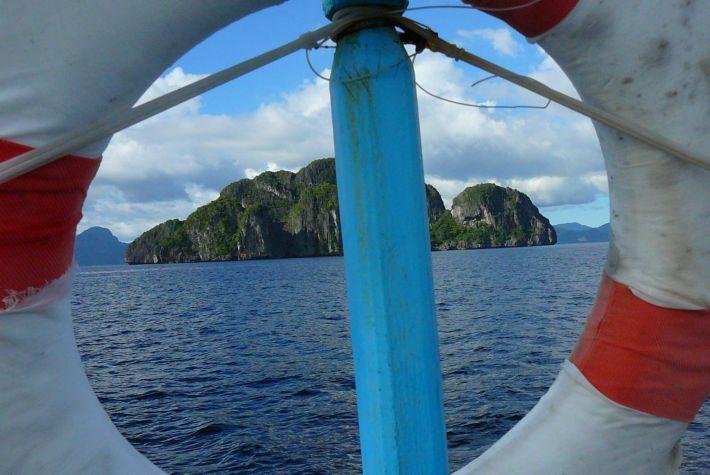 9. Island hopping