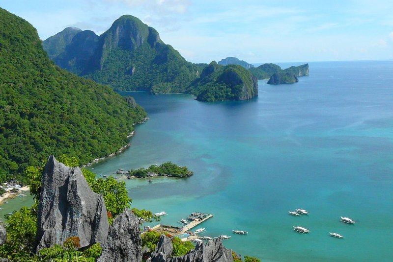 9. Taraw Cliffs over El Nido
