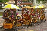 8. Melacca rickshaws