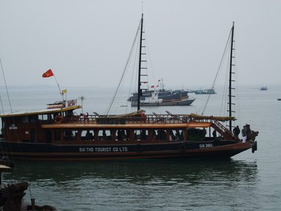 Transport on Halong Bay