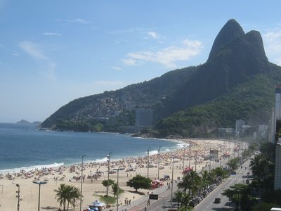 Leblon beach from Ipanema