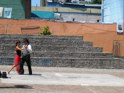 Tango in La Boca