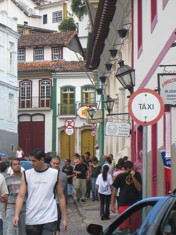 Streetlife in Ouro Prêto