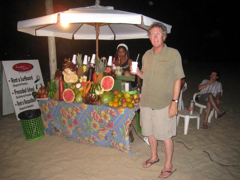 Beach bar at Morro de São Paolo