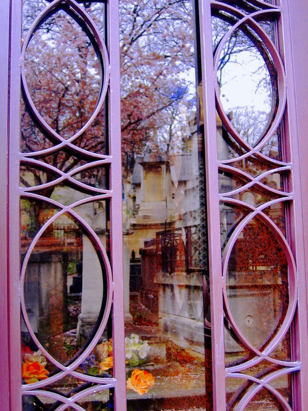 Reflections in a Cemetery