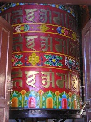 Tibetan praying