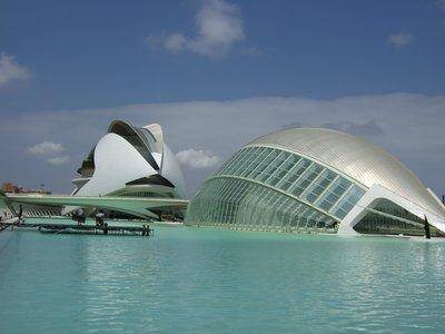 Ciutat de les Arts i les Ciències, Valencia.