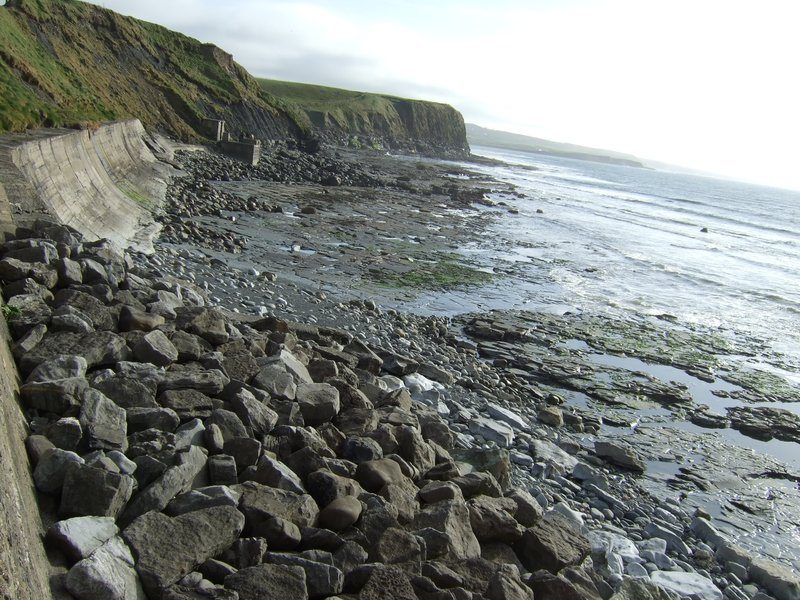 Lahinch beach on the west coast of Ireland.