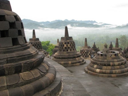 Borobodur' Stupas
