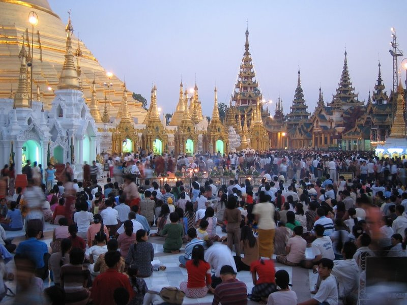 Shwedagon Festival, Yangon