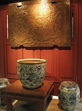 Jim Thompson Silk Museum art