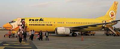 The smiling face of NOK air