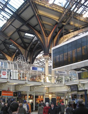 Piccadilly Station, London