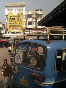 Public bus, Chiang Rai, Thailand