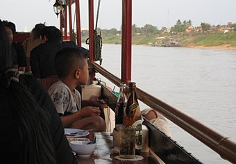 River Dinner cruise on the Mekong, Nong Khai