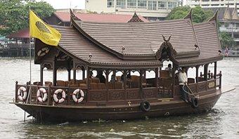 Shuttle boat, Chao Phraya River, Bangkok