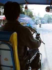 Tuk-tuk driver, Thailand