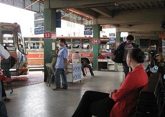 Udon Thani bus terminal