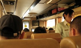 1st class Bus from Chiang Mai to Chiang Saen