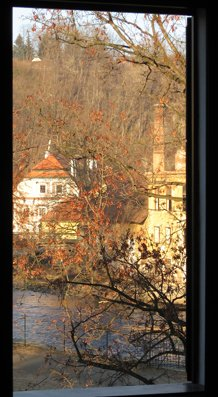 View from Hotel Rose, Cesky Krumlov