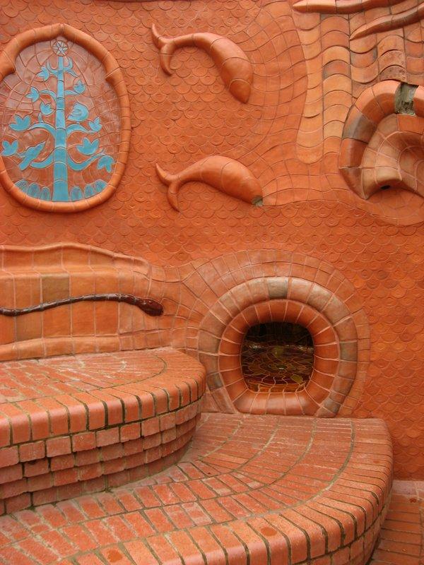 Benalla Ceramic Mural detail 2