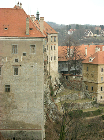 Walls of Krumlov Castle
