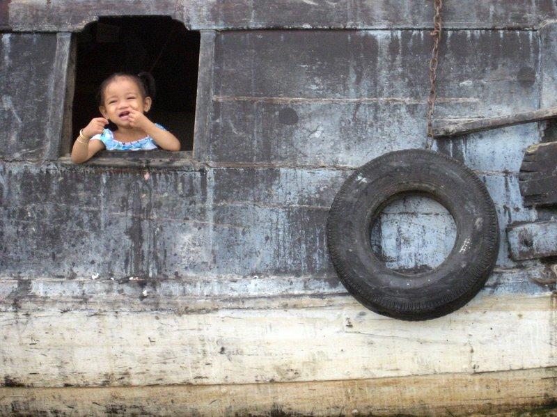 Mekong porthole