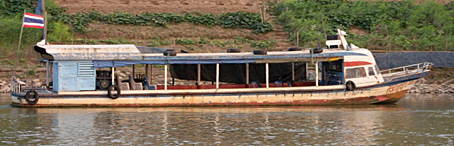 Riverboat on the Mekong, Nong Khai
