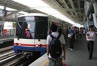 Skytrain arriving