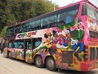 Tour Bus 2, Sop Ruak, Thailand