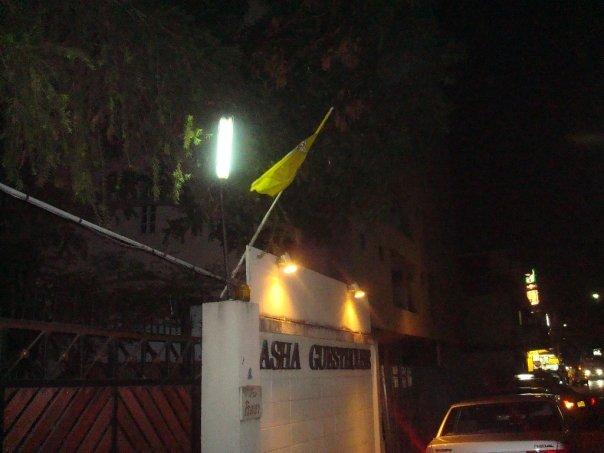 Arriving at Asha