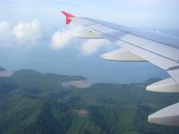 Air Asia over Thailand