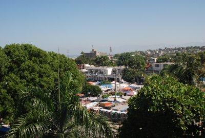 Tent City in the Champs de Mars