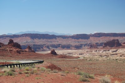 on the road in southern utah