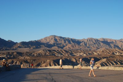 Europeans at Death Valley