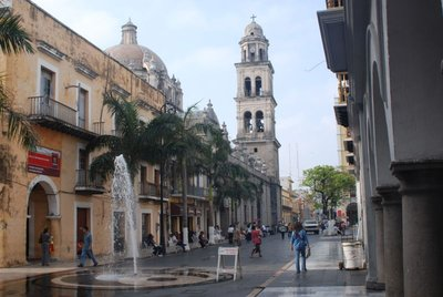 East Entrance to the Zocalo in Veracruz