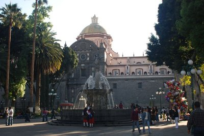 Fountain in the Zocalo