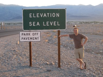 Me at Death valley
