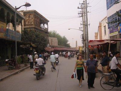 Streets of Kashgar