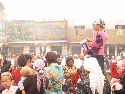 Hotan Sunday Market