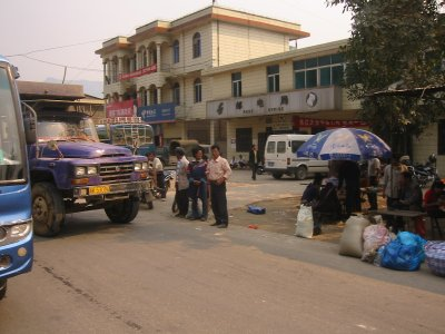 Streets in Xishuangbanna
