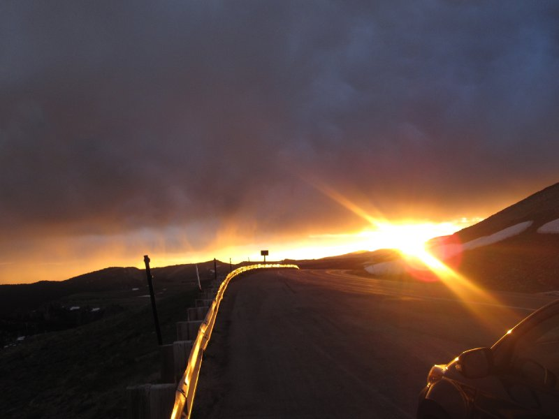 Big Horn Sunset