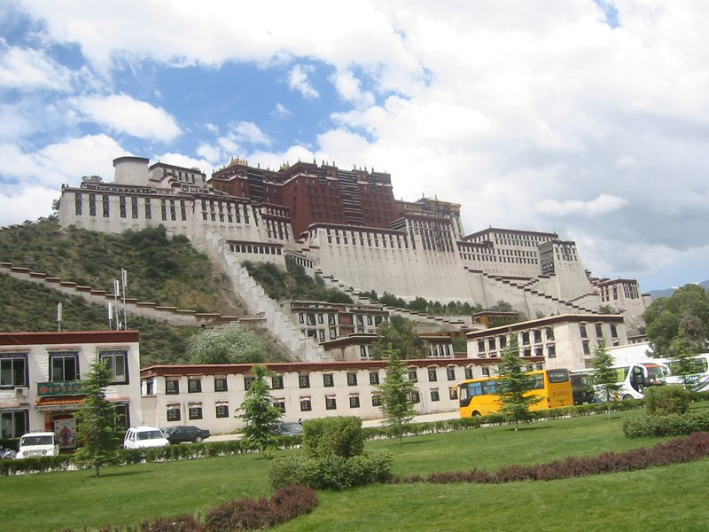 Potala Palace West View