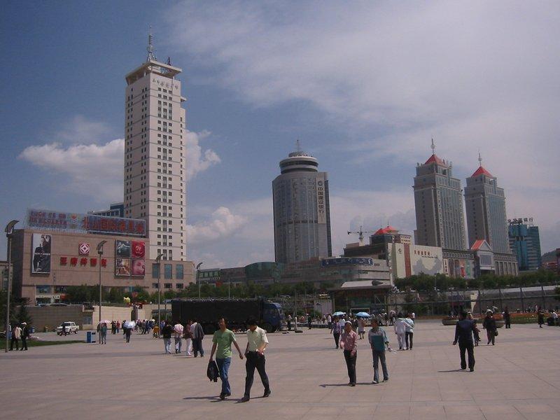 Downtown Xining