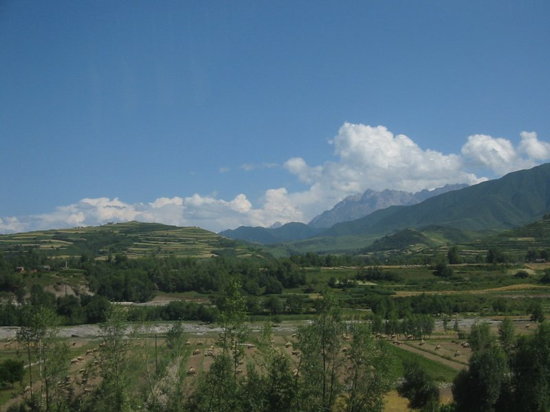 Roadside Gansu