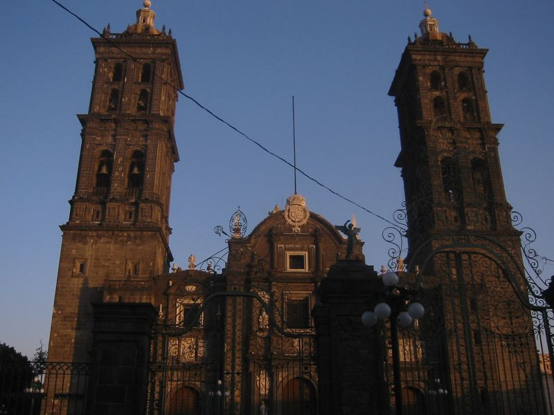 Main Catherdal in Puebla